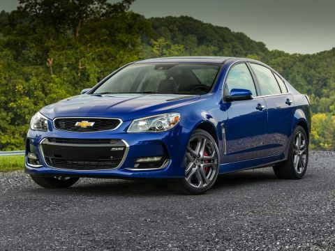 New 2017 Chevrolet SS Base RWD 4D Sedan