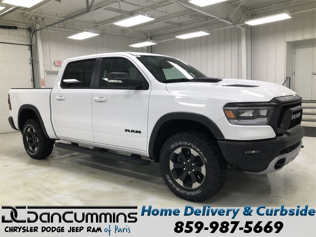 New 2020 Ram 1500 Rebel Crew Cab 4WD