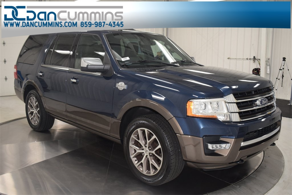 King Ranch Expedition >> Pre Owned 2015 Ford Expedition King Ranch 4wd