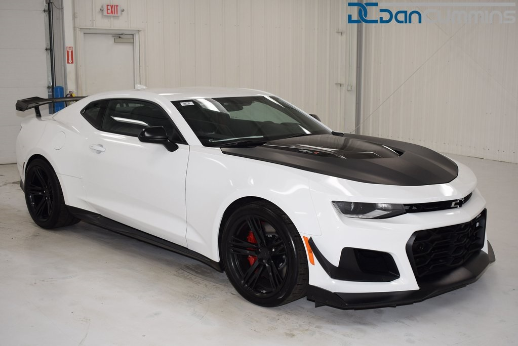 New 2018 Chevrolet Camaro Zl1 2d Coupe In Paris 102738 Dan