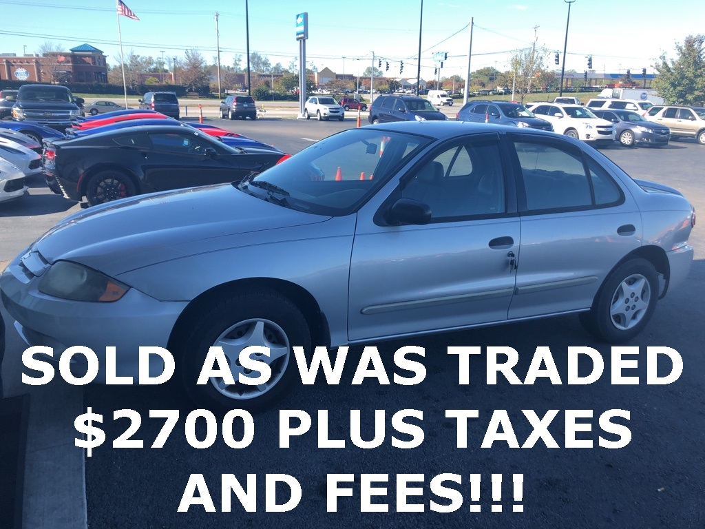 Pre-Owned 2005 Chevrolet Cavalier Base