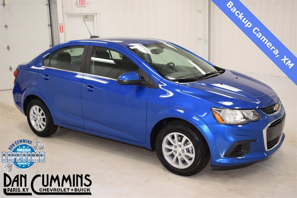 New 2018 Chevrolet Sonic Lt 4d Sedan In Paris 100524