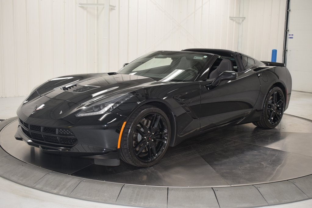 corvette chevrolet stingray z51 coupe