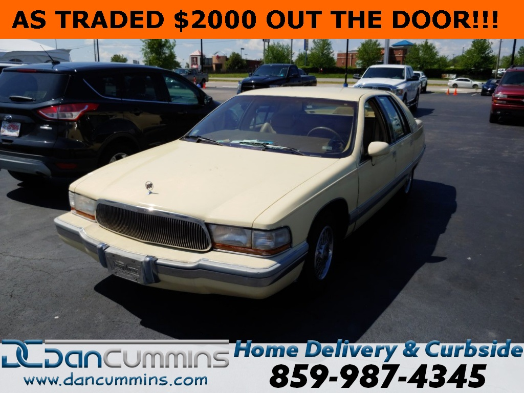 Pre-Owned 1992 Buick Roadmaster Limited RWD 4D Sedan