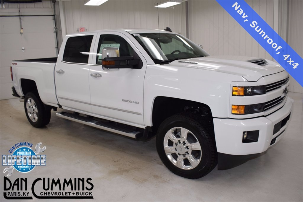 new 2018 chevrolet silverado 2500hd ltz 4d crew cab in paris 100326 dan cummins chevrolet buick. Black Bedroom Furniture Sets. Home Design Ideas