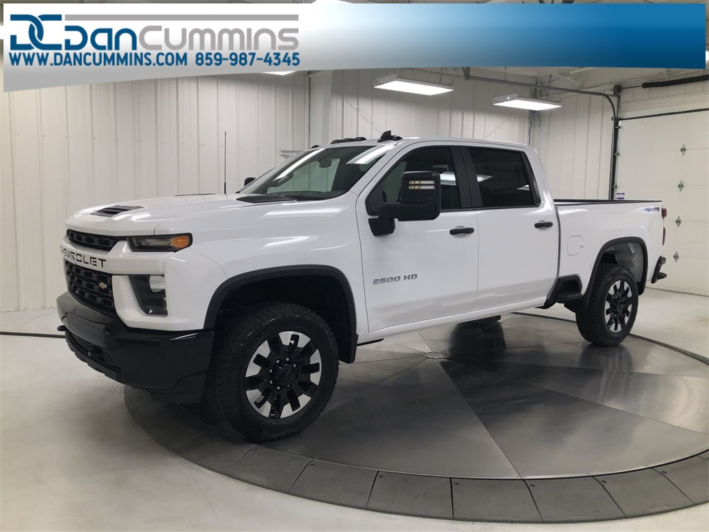 New 2020 Chevrolet Silverado 2500HD Custom Crew Cab 4WD