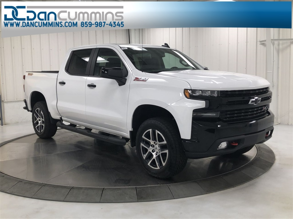 New 2020 Chevrolet Silverado 1500 LT Trail Boss Crew Cab 4WD