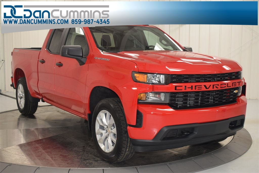 New 2019 Chevrolet Silverado 1500 Custom Double Cab 4WD