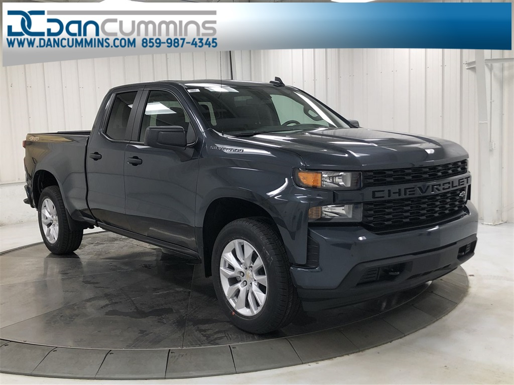 New 2020 Chevrolet Silverado 1500 Custom Double Cab 4WD