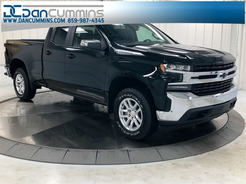 New 2019 Chevrolet Silverado 1500 LT Double Cab 4WD