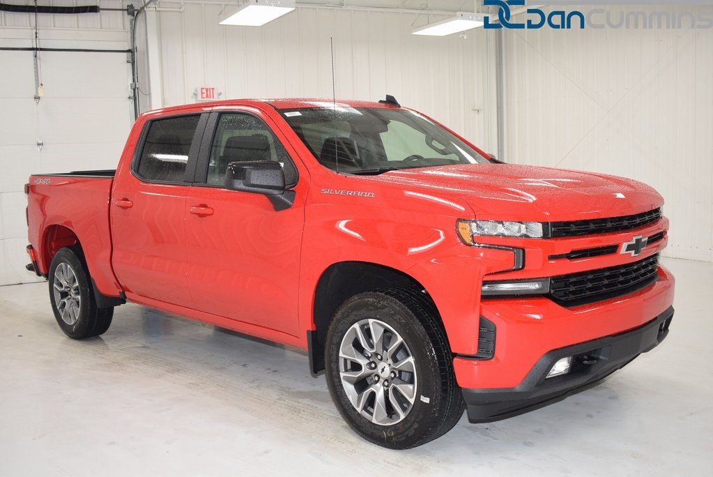 New 2019 Chevrolet Silverado 1500 Rst 4d Crew Cab In Paris 103771