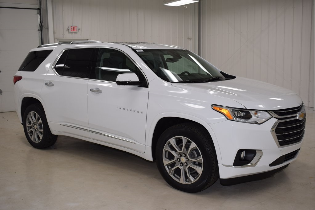 New 2018 Chevrolet Traverse Premier 4d Sport Utility In