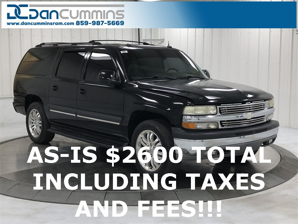 Pre-Owned 2004 Chevrolet Suburban 1500 LT 4WD