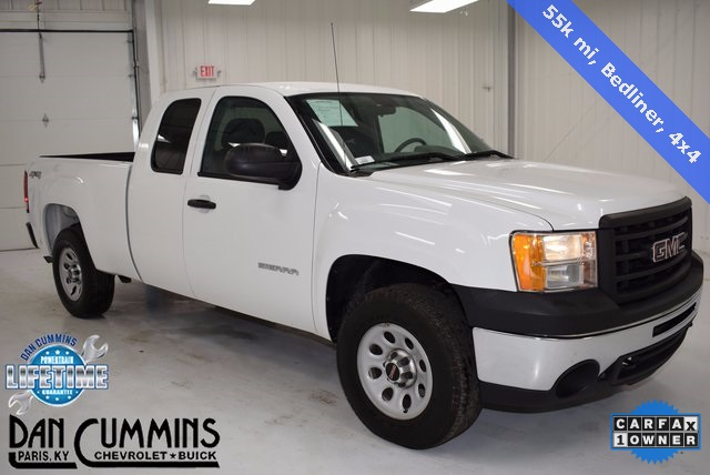 pre owned 2013 gmc sierra 1500 work truck 4d extended cab in paris 34286 dan cummins. Black Bedroom Furniture Sets. Home Design Ideas