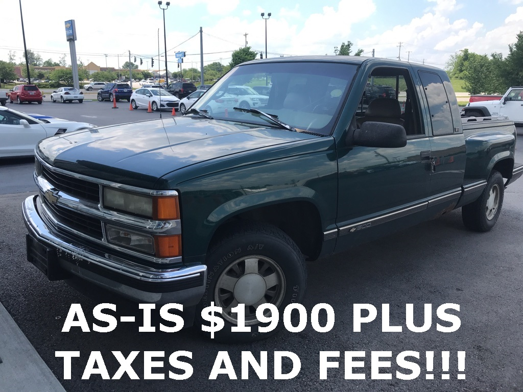 Pre-Owned 1996 Chevrolet C/K 1500 Base