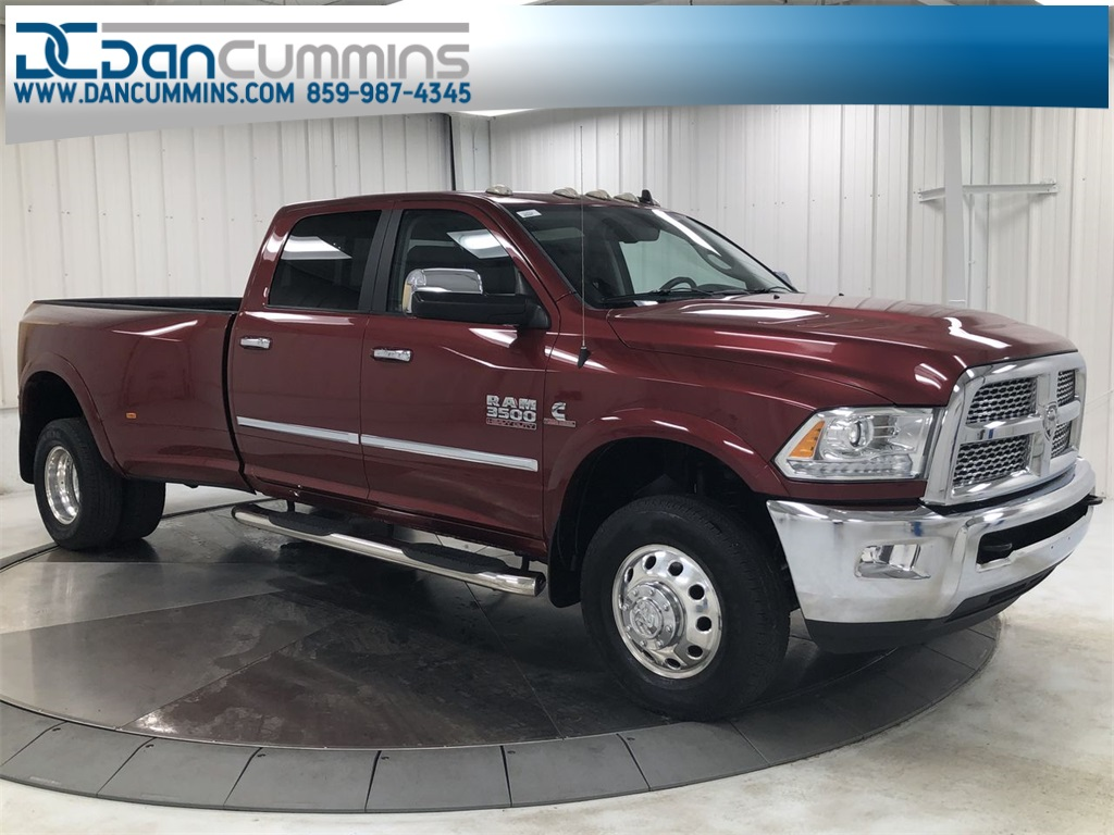 Pre Owned 2015 Ram 3500 Laramie 4d Crew Cab In Paris