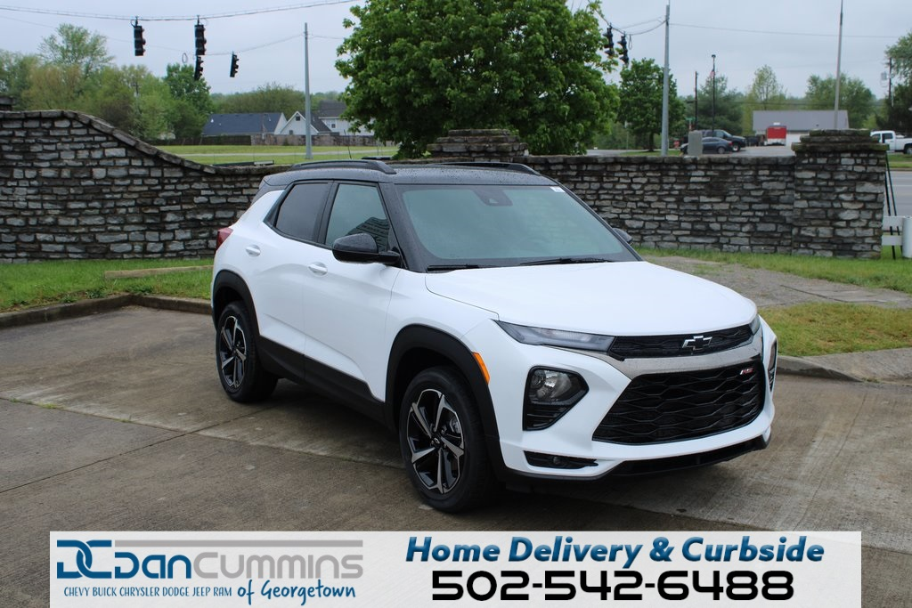 new 2021 chevrolet trailblazer rs 4d sport utility in