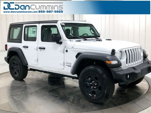 New 2019 Jeep Wrangler Unlimited Sport 4WD