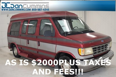 Pre-Owned 1994 Ford E-150 Base RWD 3D Cargo Van