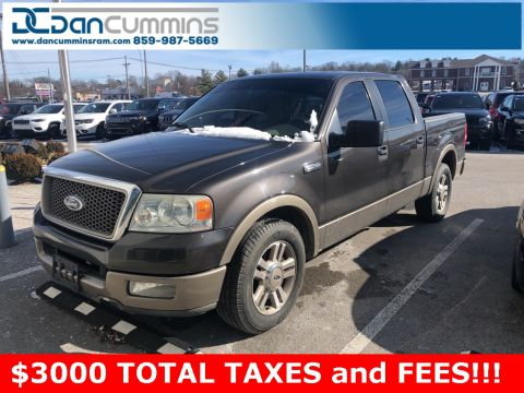 Pre-Owned 2005 Ford F-150 RWD 4D Crew Cab Crew Cab