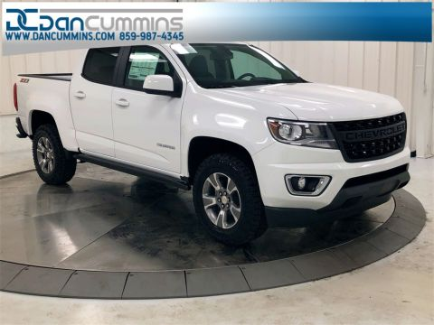 New 2019 Chevrolet Colorado Z71 Crew Cab 4WD