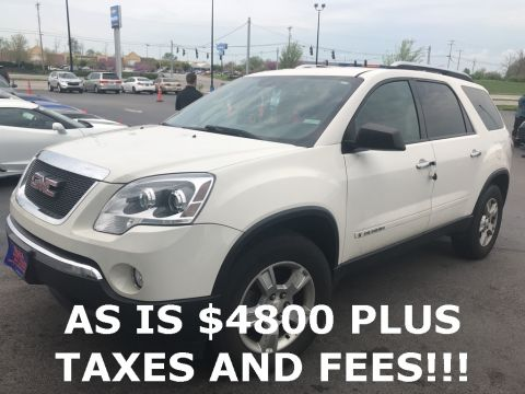Pre-Owned 2008 GMC Acadia SLE-1 FWD 4D Sport Utility