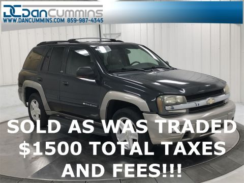Pre-Owned 2003 Chevrolet TrailBlazer LTZ