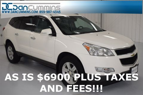 Pre-Owned 2011 Chevrolet Traverse 2LT With Navigation