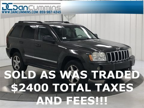 Pre-Owned 2006 Jeep Grand Cherokee Laredo 4WD