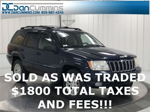 Pre-Owned 2003 Jeep Grand Cherokee Limited 4WD