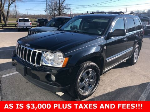 Pre-Owned 2007 Jeep Grand Cherokee Limited 4WD