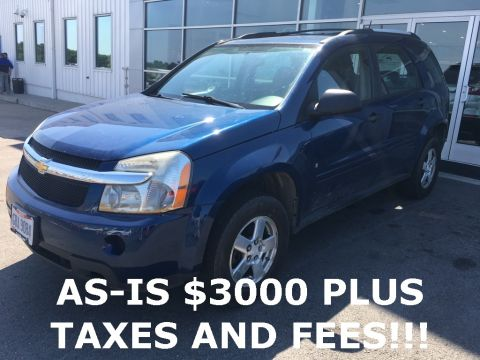 Pre-Owned 2008 Chevrolet Equinox LS AWD