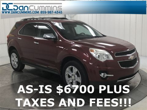 Pre-Owned 2011 Chevrolet Equinox LTZ AWD