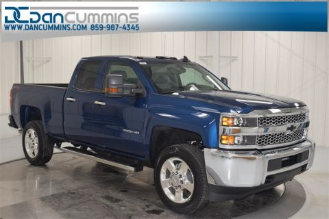 New 2019 Chevrolet Silverado 2500HD Work Truck Double Cab 4WD