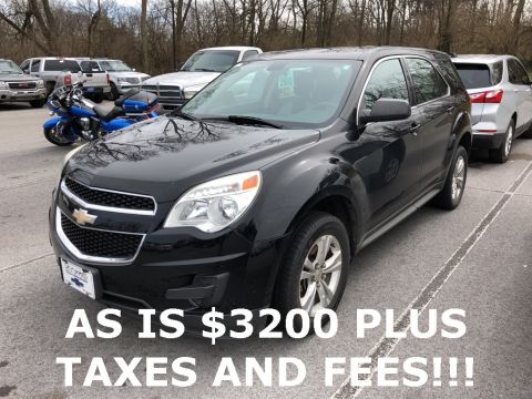 Pre-Owned 2011 Chevrolet Equinox LS FWD 4D Sport Utility
