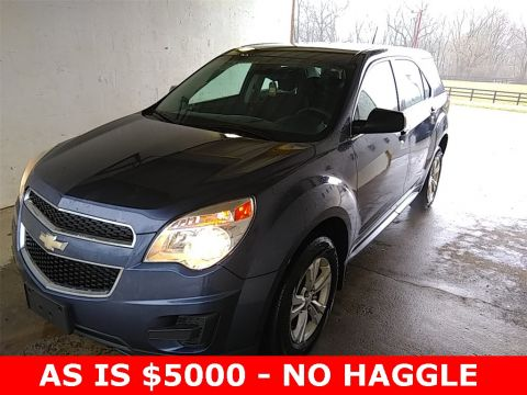 Pre-Owned 2013 Chevrolet Equinox LS FWD 4D Sport Utility