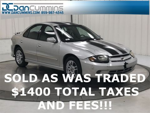 Pre-Owned 2004 Chevrolet Cavalier LS FWD 4D Sedan