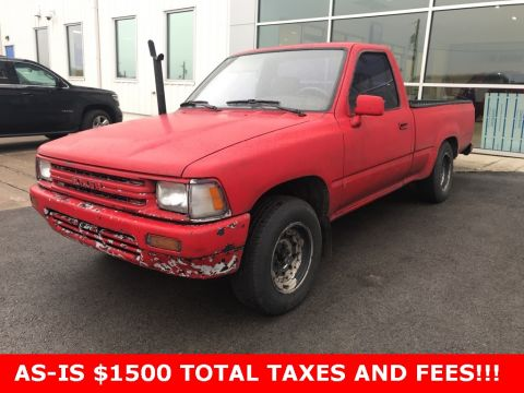 Pre-Owned 1991 Toyota Truck Base RWD 2D Standard Cab Standard Cab