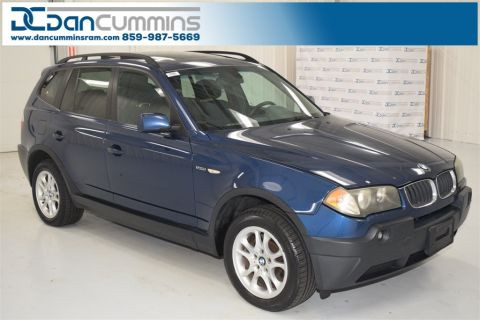 Pre-Owned 2004 BMW X3 2.5i AWD